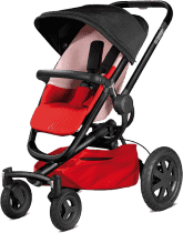 QUINNY Buzz Xtra 4 kolesový kočík - Reworked Red
