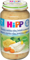 HIPP tagliatelle s mořskou rybou, brokolicí a smetanou (220 g) - maso-zeleninový příkrm