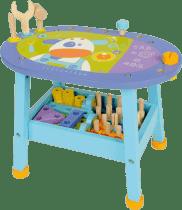 BOIKIDO drevený Interaktívny stolík Malý konštruktér