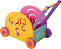 BOIKIDO dřevěný Můj první vozík Myška