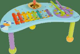 BOIKIDO dřevěný Hudební hrací stolek