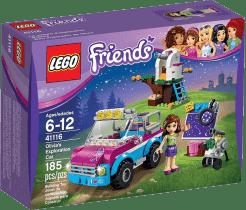 LEGO® Friends Wóz badawczy Olivii