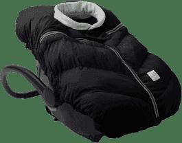 7 A.M. ENFANT Śpiworek do fotelika samochodowego Cocoon, Black