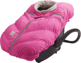 7 A.M. ENFANT Fusak do autosedačky Cocoon, Neon Pink