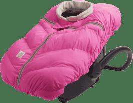 7 A.M. ENFANT Śpiworek do fotelika samochodowego Cocoon, Neon Pink