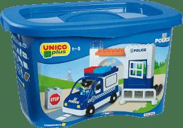 UNICO Stavebnice Policejní stanice 41ks
