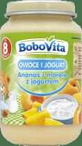 BOBOVITA Morele i owoce południowe z jogurtem (190g)