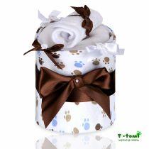 T-TOMI Plenkový dort, malé bílé tlapky