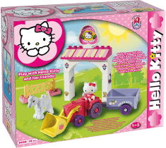 UNICO Hello Kitty Stavebnice – Mini Farma 18ks
