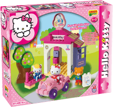 UNICO Hello Kitty Stavebnica – Autoumyváreň 42ks