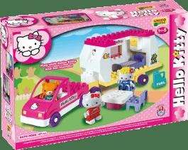UNICO Hello Kitty Zestaw klocków – Kamper 47 szt.