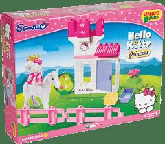 UNICO Hello Kitty Stavebnica a jej koník 30ks