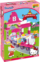 UNICO Hello Kitty Stavebnice – Fun Park Vláček 51ks