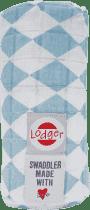 LODGER Multifunkčný osuška Swaddler Cotton - Silvercreek