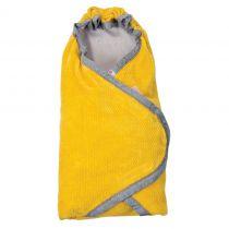 LODGER Zavinovačka Wrapper Newborn Cotton – Gold