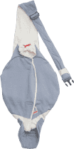 LODGER Nosítko Shelter 2.0 Cotton Sport - Grey