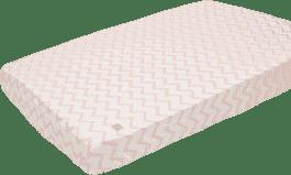 LODGER Prostěradlo Slumber Cotton do kolébky 40x80cm – Nude
