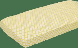 LODGER Prostěradlo Slumber Cotton do kolébky 40x80cm – Gold
