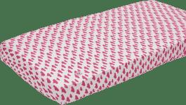 LODGER Prostěradlo Slumber Cotton do kolébky 40x80cm – Rosa
