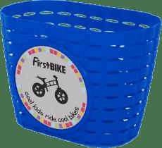 FIRST BIKE Košík modrý