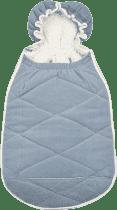 LODGER Fusak Mini-Bunker Fleece - Steel-grey