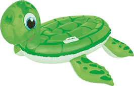BESTWAY Nafukovacie korytnačka s držadlami, 140 x 140 cm