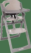 BABYMOOV Jedálenská drevená stolička Light Wood, Taupe