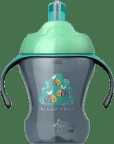 TOMMEE TIPPEE Netečúci hrnček so slamkou Explora Easy Drink 6m +, 230ml-chlapec