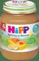 HIPP příkrm banánový s meruňkami (125 g) - ovocný příkrm