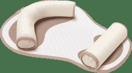 BABYMOOV CosyPad – ergonomická podpěrka