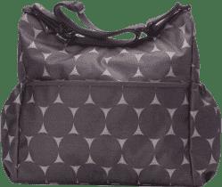 BABYMEL Prebaľovacia taška Slouchy Jumbo Dot Grey