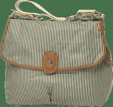 BABYMEL Prebaľovacia taška Satchel námornej prúžok