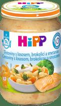 HIPP Těstoviny s lososem, brokolicí a smetanou (250 g) - maso-zeleninový příkrm