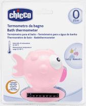 CHICCO Termometr do wanienki rybka różowy