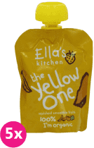 5x ELLA'S Kitchen Ovocné pyré - Banán (The Yellow One) 90g