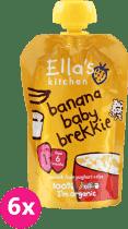 6x ELLA'S Kitchen Raňajky - Banán a jogurt 100g