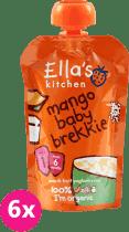 6x ELLA'S Kitchen Raňajky - Mango a jogurt 100g