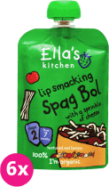 6x ELLA'S Kitchen Špagety Bolognese 130g