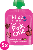 5x ELLA'S Kitchen, Pink One (Čerešňa) 90 g