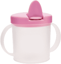 CANPOL Babies Hrníček s pítkem BASIC- růžová 200ml