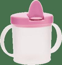 CANPOL Babies Hrnček s náustkom BASIC- ružová 200ml