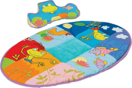 TAF TOYS Hrací deka spolštářkem pro hru na bříšku