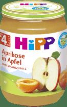 HIPP BIO Jablka s meruňkami, (190 g)