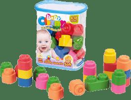 CLEMENTONI CLEMMY baby - 24 kociek v plastovom vreci