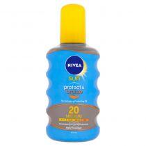 NIVEA Sun Olej na opaľovanie Protect & Bronze OF20, 200 ml