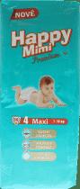 HAPPY MIMI Pieluszki Premium Maxi 50 szt.