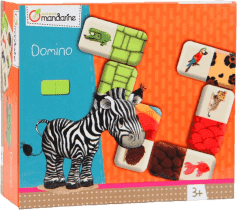 AVENUE MANDARINE Gra Domino dla dzieci Zwierzątka, Avenue Mandarine
