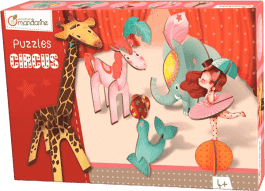 AVENUE MANDARINE 3D puzzle – Dívka v cirkusu