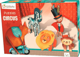 AVENUE MANDARINE 3D puzzle – Chlapec v cirkusu