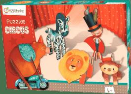 AVENUE MANDARINE 3D puzzle Chlapec v cirkuse